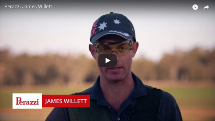 Perazzi James Willett Olympic Trap Shooter