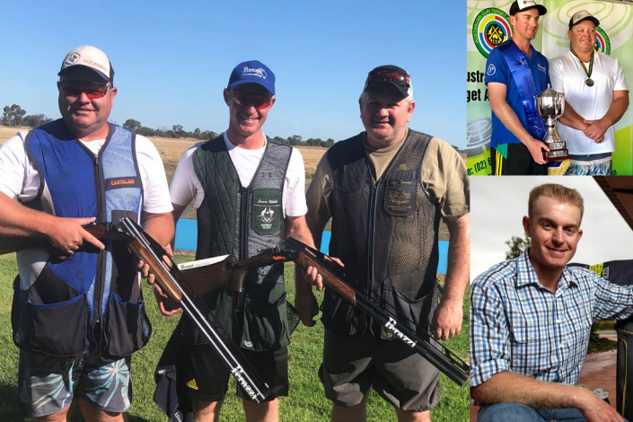 James Willett ISSF Commonwealth and National double trap championships at Echuca