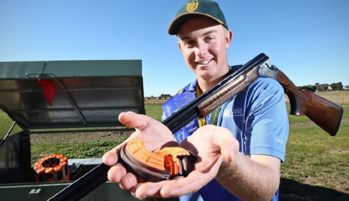 Olympic Trap Clay Shooter James Willett