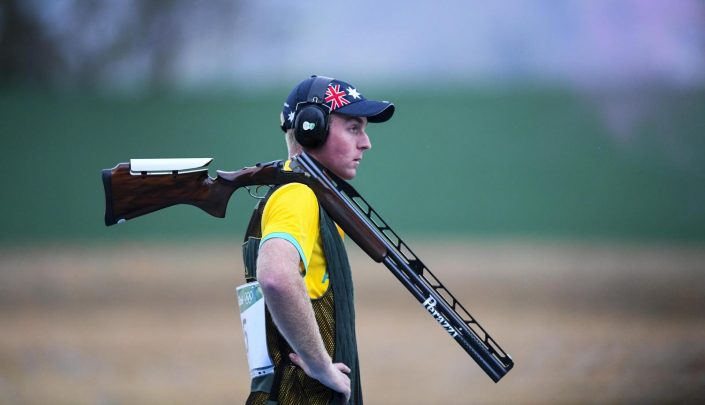 James Willett Men's Double Trap Commonwealth Games 2018
