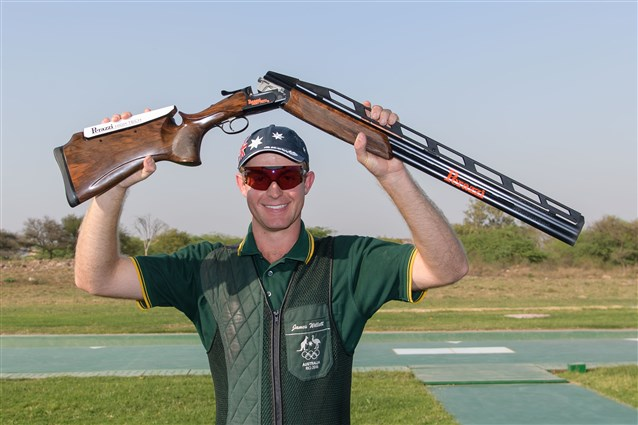 James Willett pockets Australia's second Gold medal in New Delhi